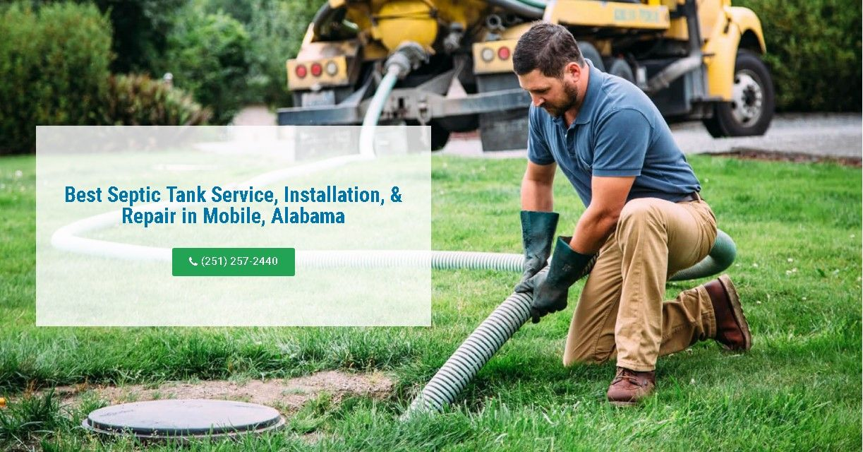 Best Septic Tank Service, Installation, & Repair in Mobile