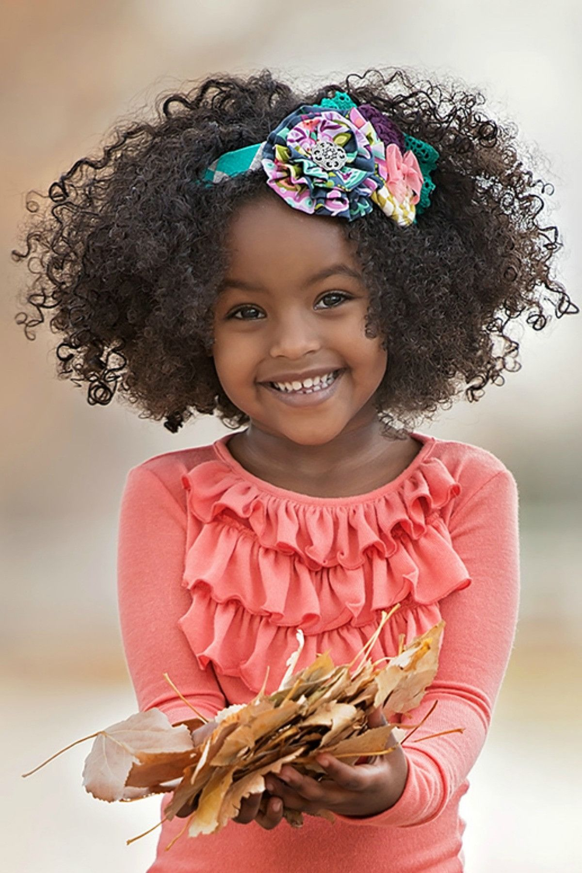 Everly Headband F16 Kids Curly Hairstyles Natural Hair