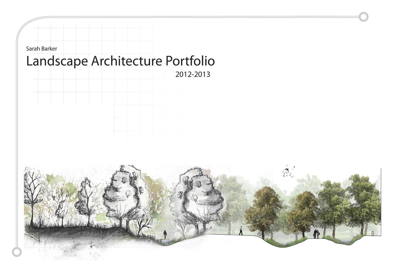 Sarah barker undergraduate landscape architecture for Barker landscape architects
