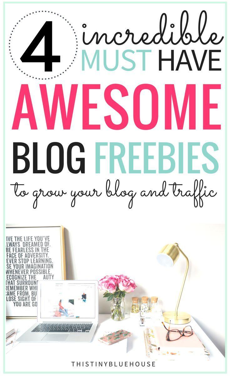 4 Blog Freebies to Help Grow Your Blog