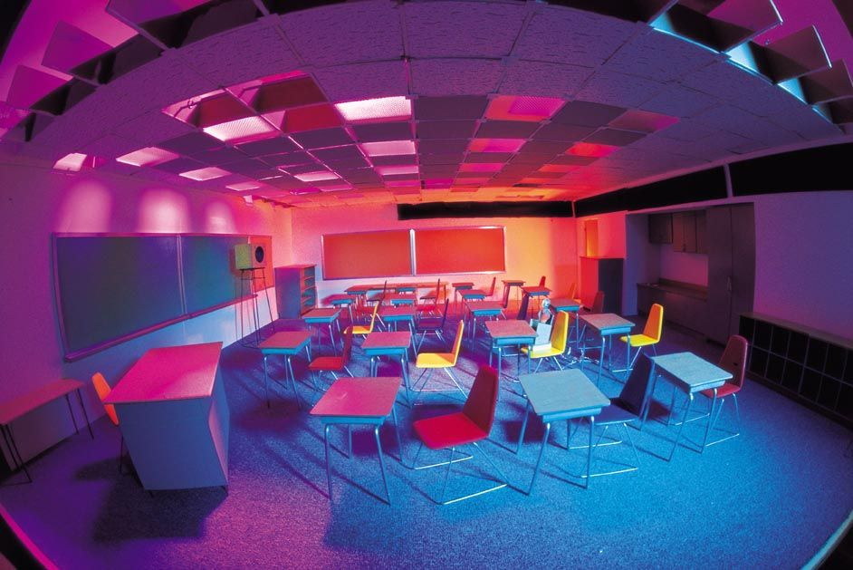 Modern Kindergarten Classroom Design : Classroom colors to fix the boring design our