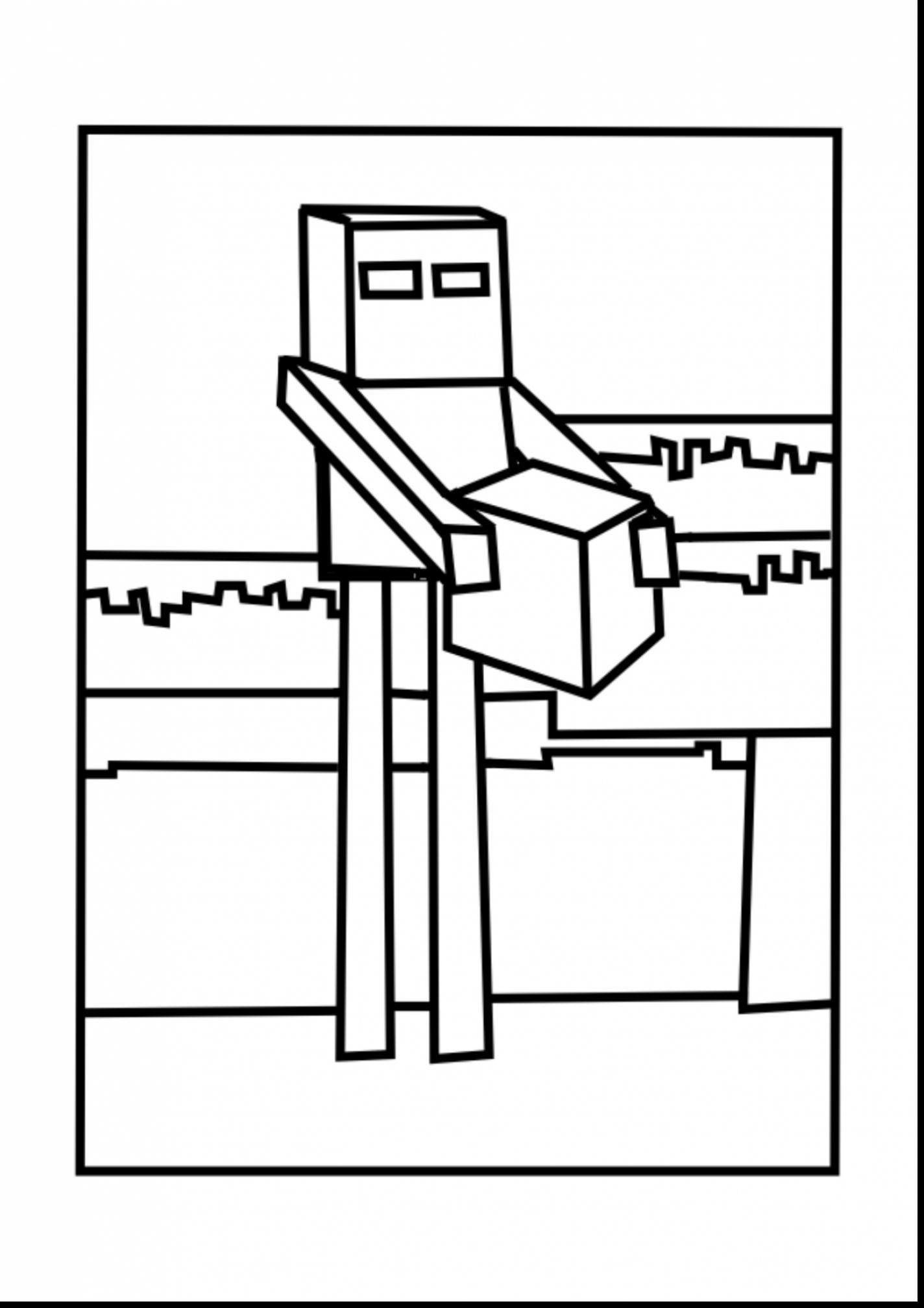 Enderman Coloring Pages Collection