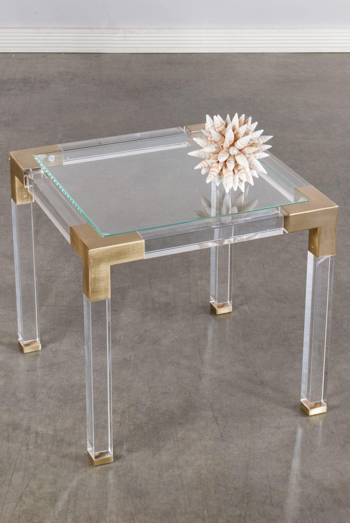 39432 Lucia Acrylic Side Table Acrylic Side Table Side Table Table