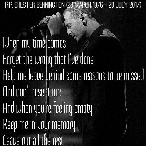 9 Likes 1 Comments Linkin Bert On Instagram Forever In Our Memories Ripchester Linkinpark Chester Bennington Quotes Linkin Park Chester Park Quotes