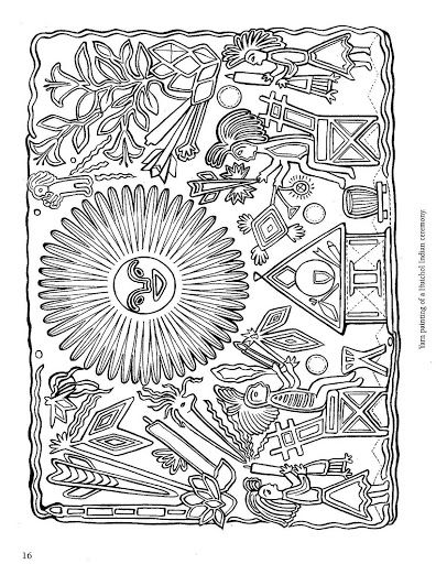 Mexican folk art coloring pages mexican folk art for Folk art coloring pages