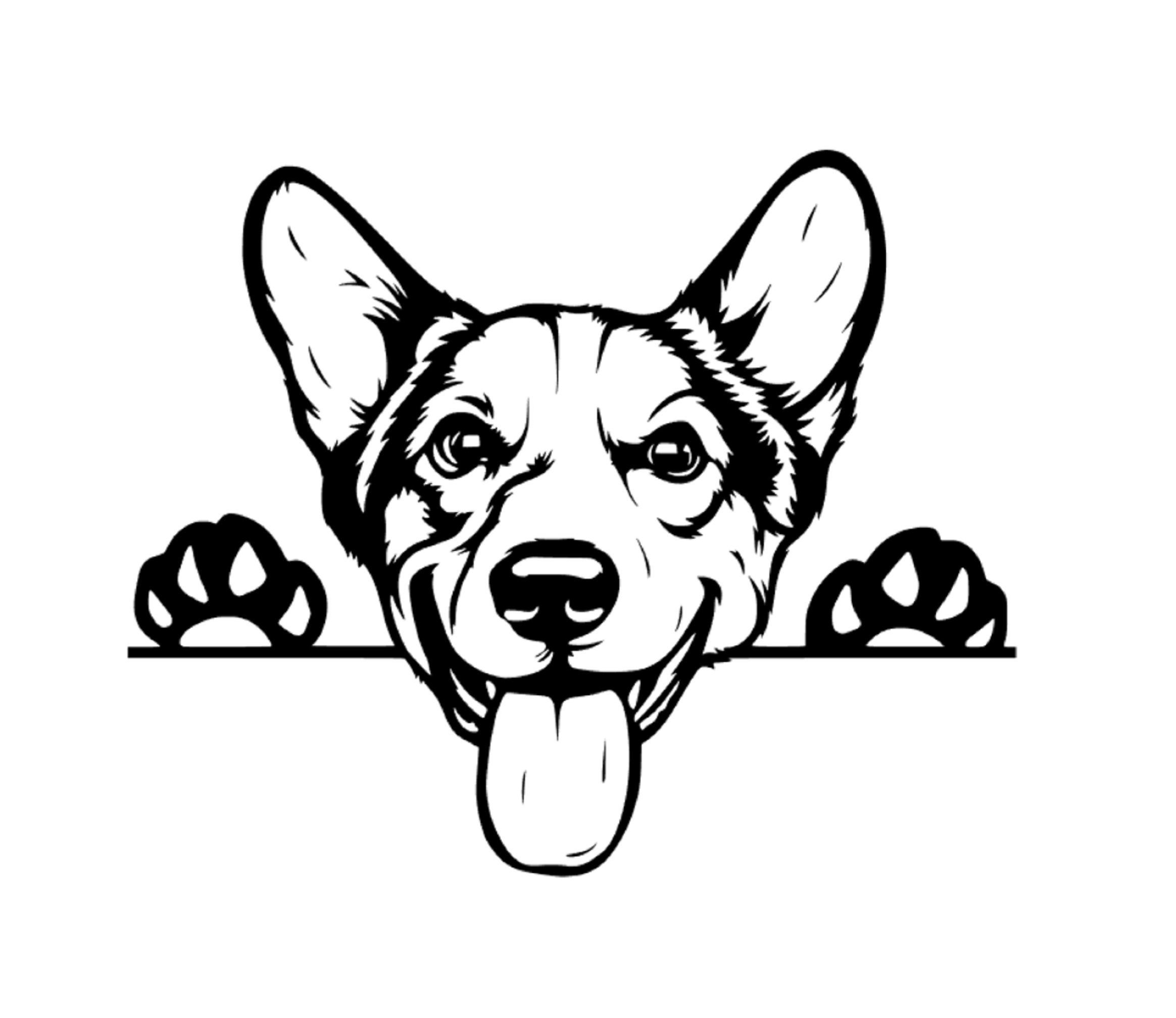 Corgi Peeking Dog Car Decal Sticker Corgi Dog Sticker Vinyl Window Cute Welsh Pembroke Corgi Gifts Corgi Lover Corgi Dog Corgis Dog Decals Corgi Gifts Corgi [ 2016 x 2328 Pixel ]