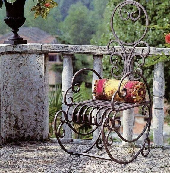 cast iron rocking chair idee per la casa nel 2019 ferro arredamento in ferro battuto e