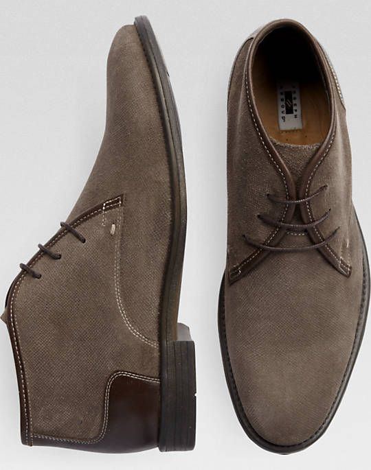 10f7be39c90a5c size 12 Joseph Abboud Gabe Brown & Tan Chukka Boots | Mitch's Old ...