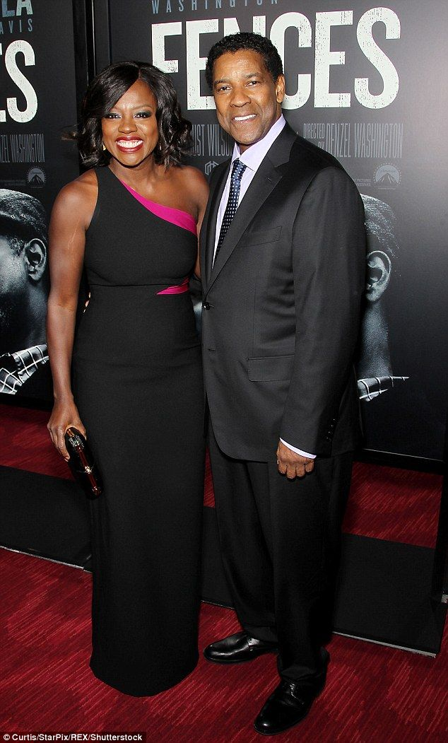 Oscar Buzz Denzel Washington And Viola Davis Lead The Cast Of Fences Down The Red Carpet Black Actresses Viola Davis Black Celebrities