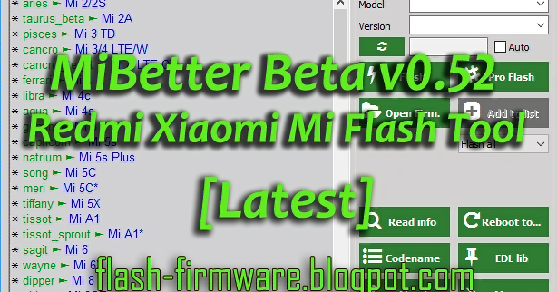 Mi Flash Tool Latest