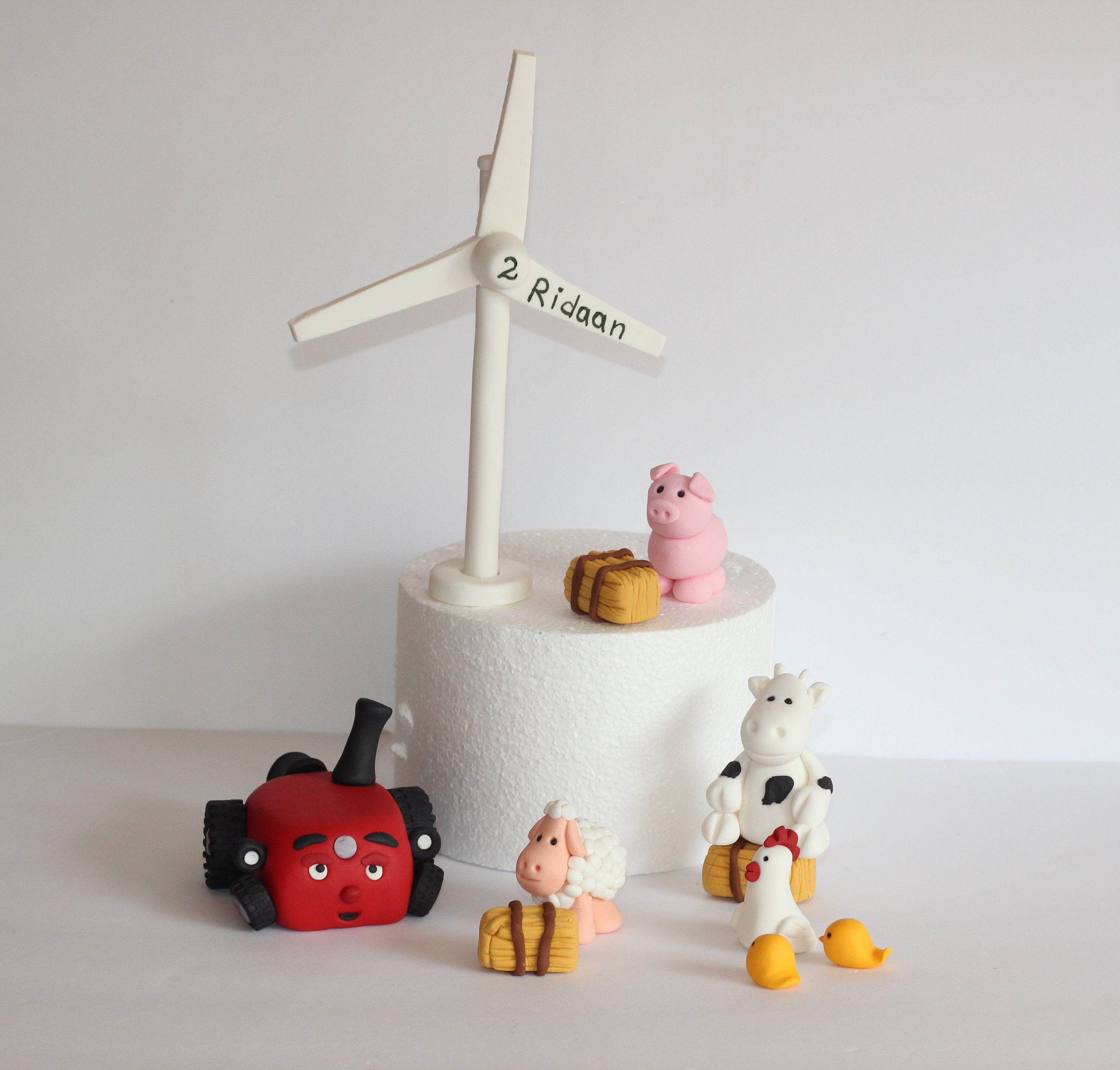 Pin On Windmill Cake Topper