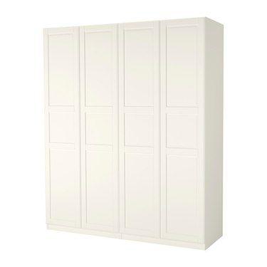 PAX Wardrobe White tyssedal white 200x60x236 cm Pax wardrobe - küche ikea planer
