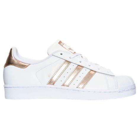 Women\u0027s adidas Superstar Casual Shoes - BA8169 BA8169-GLD| Finish Line gold  color size