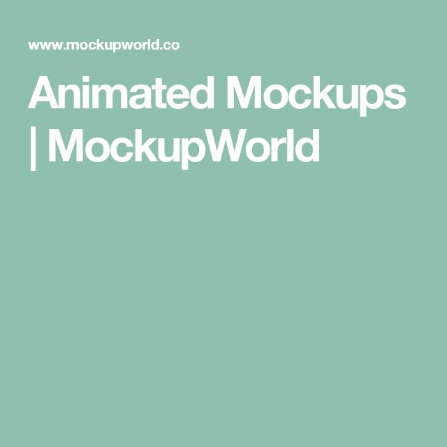 Animated Mockups | MockupWorld