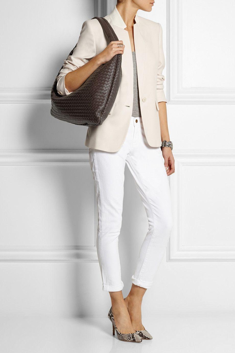 871e2785baf6 ... Bottega Veneta Maxi Veneta intrecciato leather shoulder bag  NET-A-PORTER.