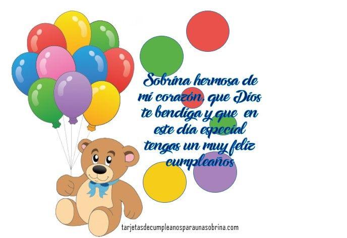 Imagenes Con Frases Bonitas De Cumpleaños Para Una Sobrina
