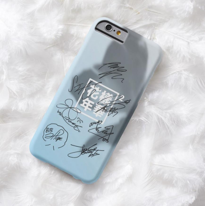 Bts mood for love pt2 signatures 10 designs bts merch