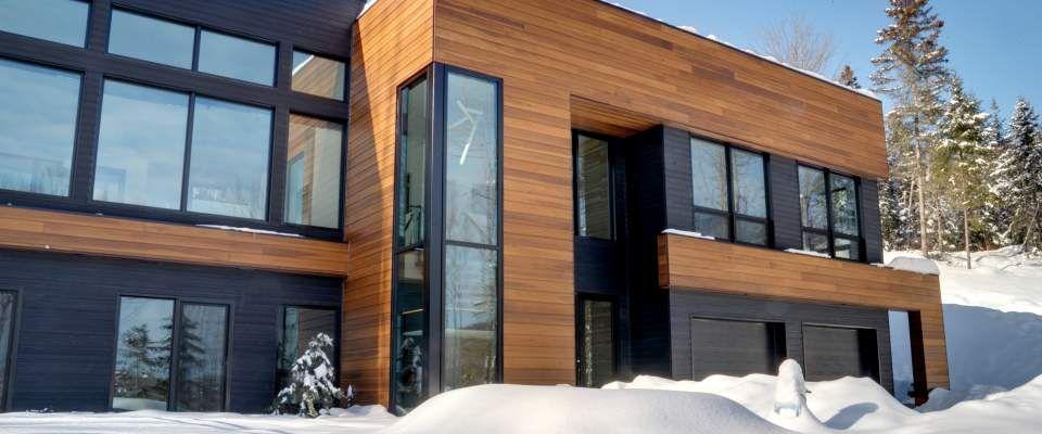 Reno Construx A Quebec Dispose D Une Designer Et D Une Salle De Montre Ainsi Que La Perspective 3d Pour Vous Permettre House Exterior Architecture House Design