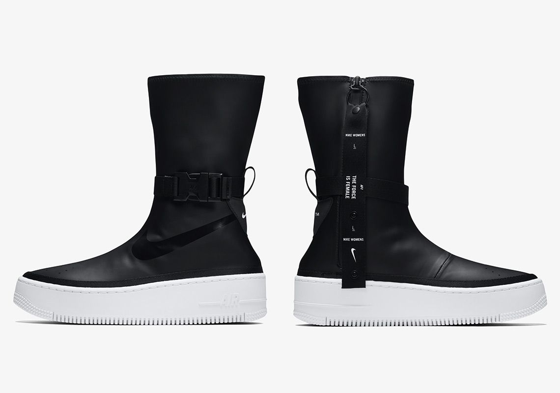 reputable site 46dbf de19f Nike Air Force AF1 Sage Hi Black White Boot AQ2771-001  thatdope  sneakers   luxury  dope  fashion  trending