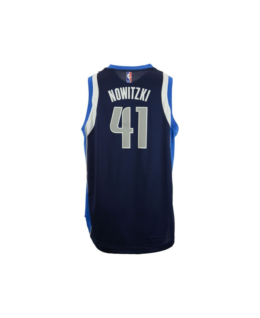 adidas Kids' Dirk Nowitzki Dallas Mavericks Swingman Jersey