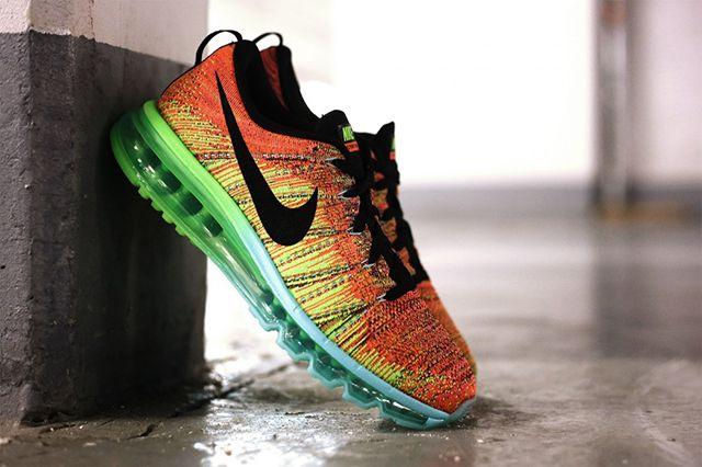 Nike Flyknit Max Orange/Multi | TheShoeGame.com - Sneakers & Information