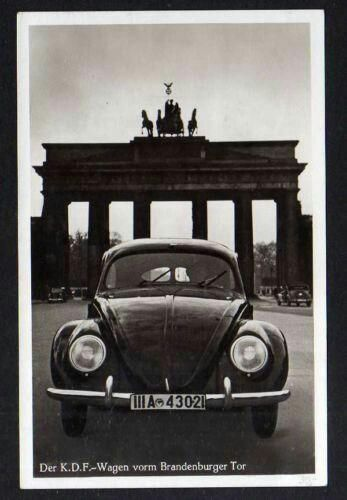 1939 Vw Berlin Brandenburger Tor Vintage Volkswagen Vintage Vw Volkswagen Car