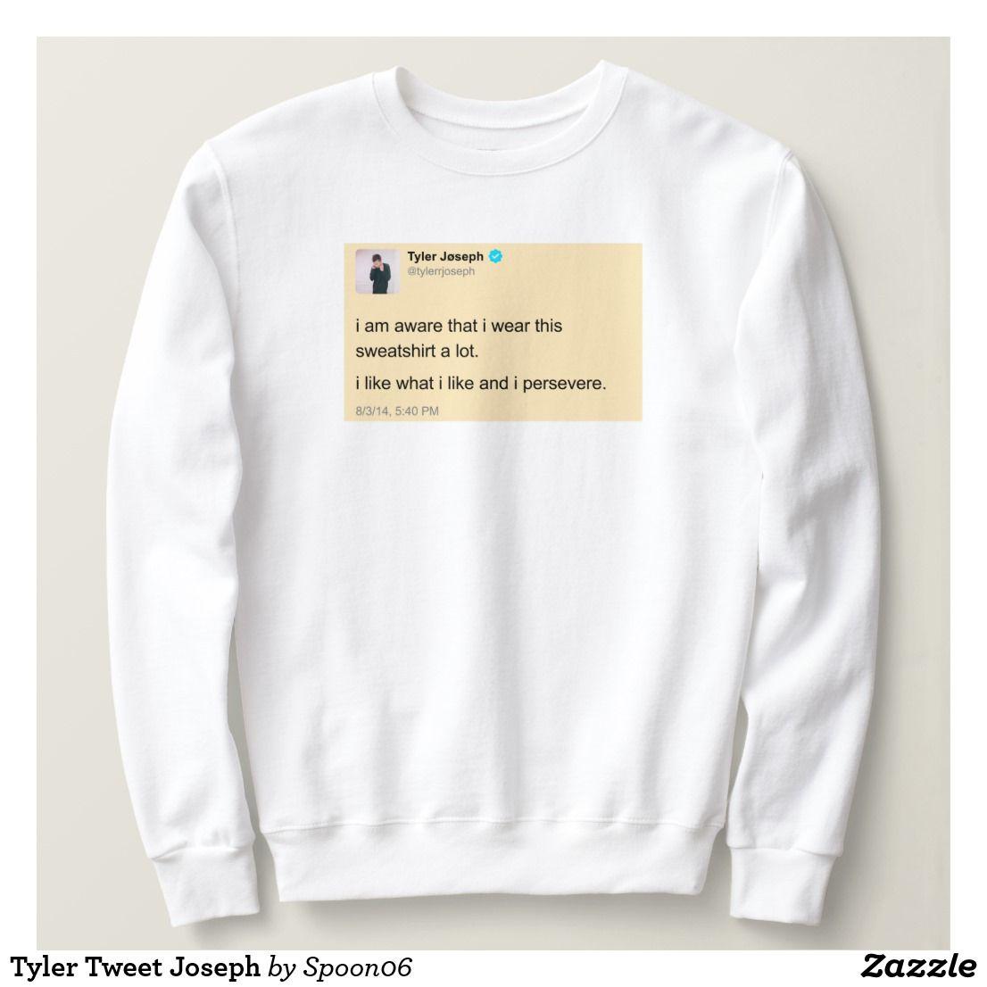 a744746af Tyler Tweet Joseph Sweatshirt | Sweatshirt / Hoodies | Pinterest ...