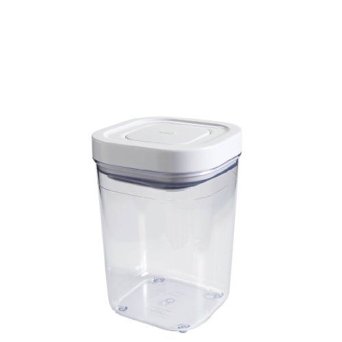 13 Oxo Pop Container Small Square 1 Liter 4 2 X 4 2 X 6 3 Inches Http Www Amazon Com Dp B0084b2e Airtight Pet Food Storage Pet Food Storage Hamster Food
