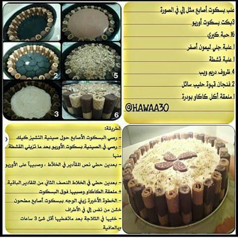 حلا الاوريو Desserts Food Cooking
