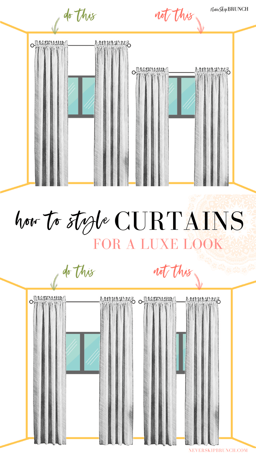 How To Style Colored Curtains For A Luxe Look Curtains Living