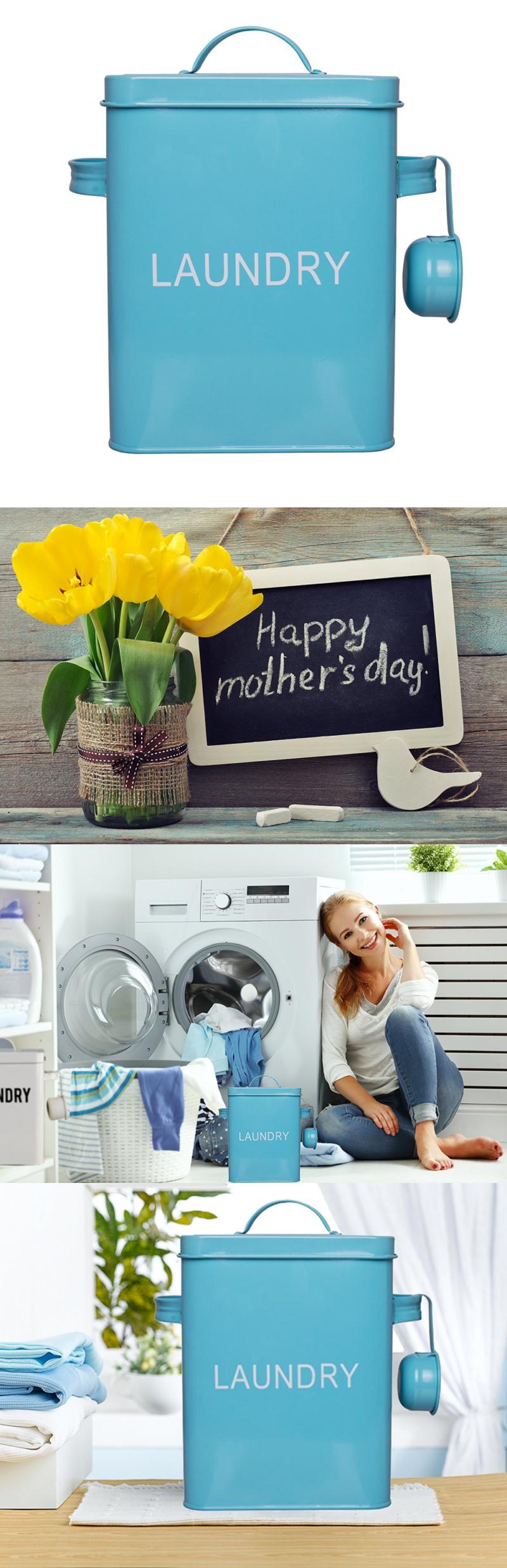 Detergents 78691: La Jolie Muse Laundry Detergent Storage Tin For Tide  Pods, Free Mesh