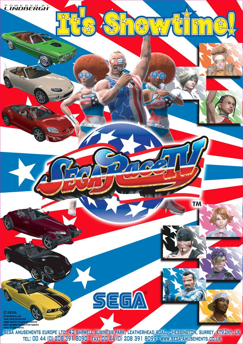 Sega Race TV Juegos, Fun.