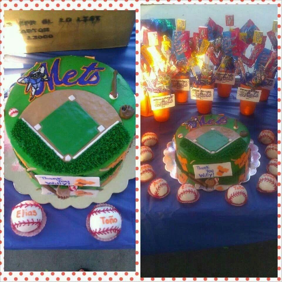 Baseball team cake by cakes by gabriela of houston tx