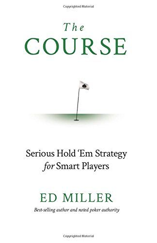 The Course Serious Hold u0027Em Strategy For Smart Players *by Ed - sample holdem odds chart template