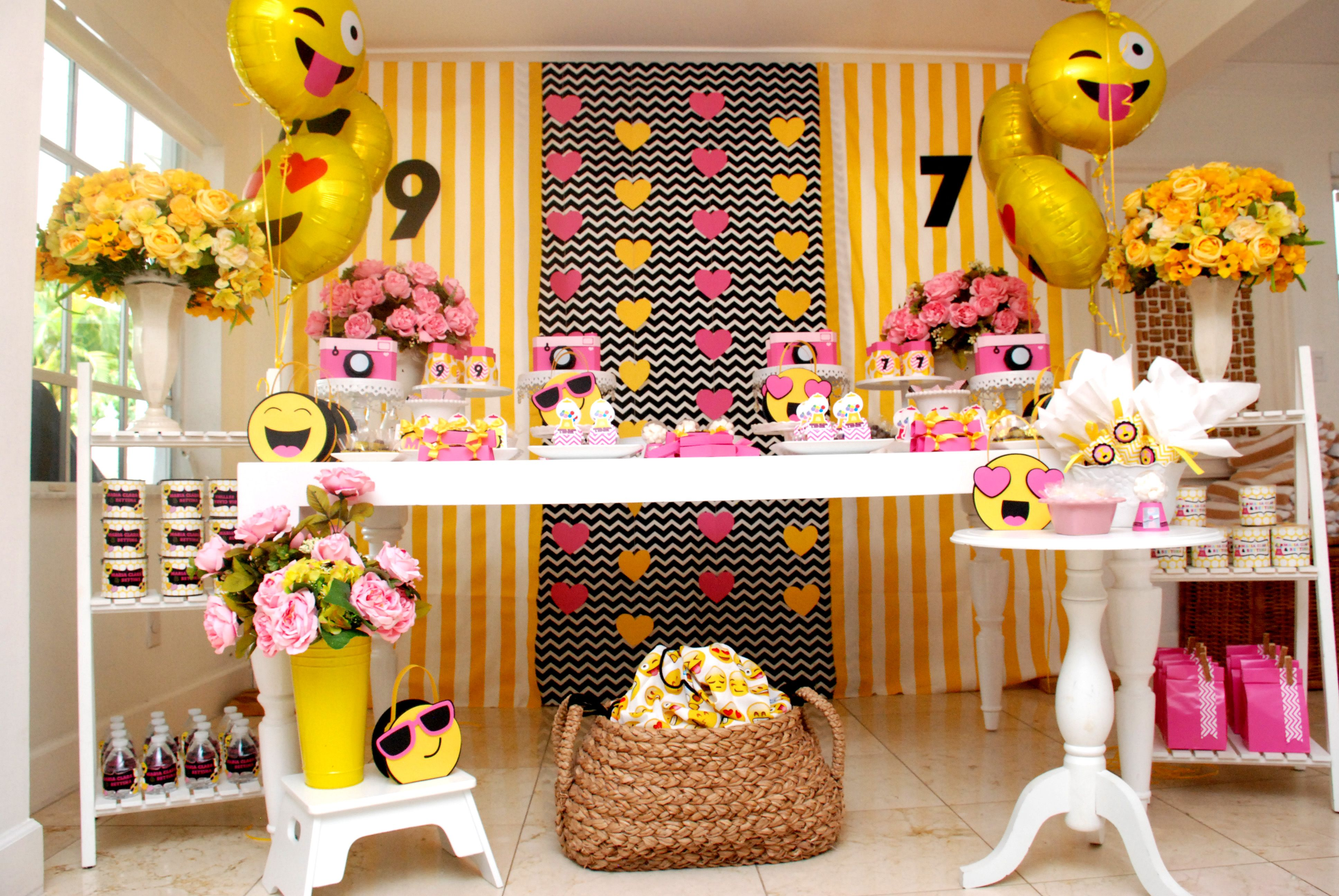 teenager Party-Yellow black