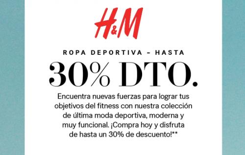 65e04d81e Un 30% de descuento en ropa deportiva en H M
