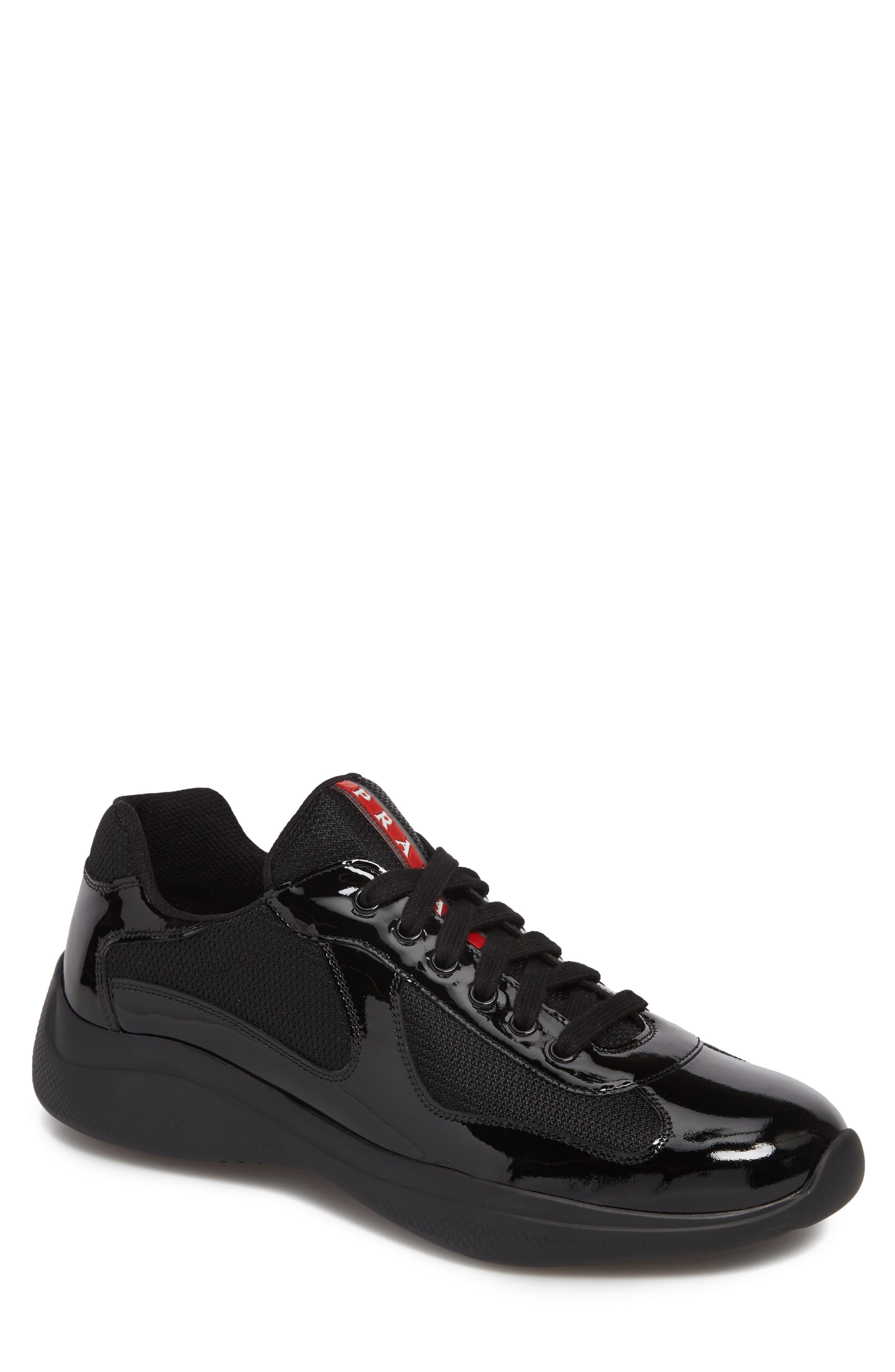 Prada Americas Cup Sneaker (Men | Prada sneakers, Prada men