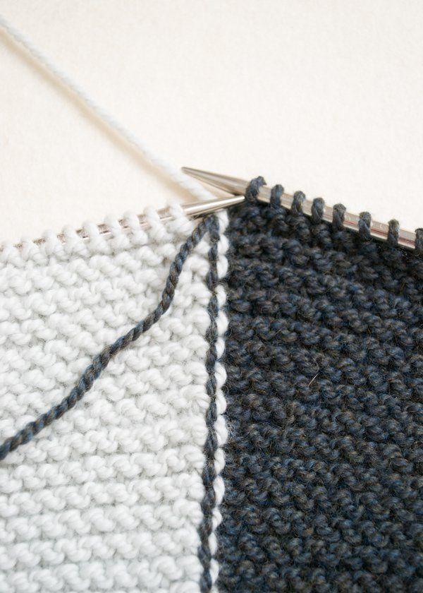 Sideways Garter Vest | Purl Soho | Tejido tips | Pinterest | Tejidos ...