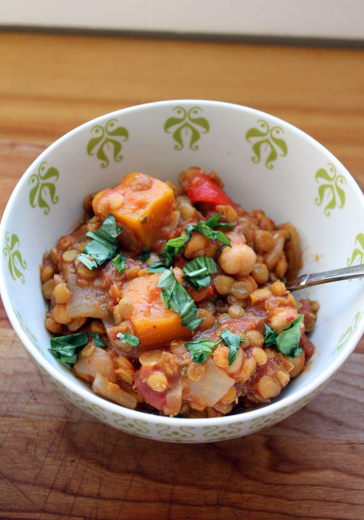Chris Freytag Butternut Squash, Chickpea & Lentil Moroccan Stew » Chris Freytag