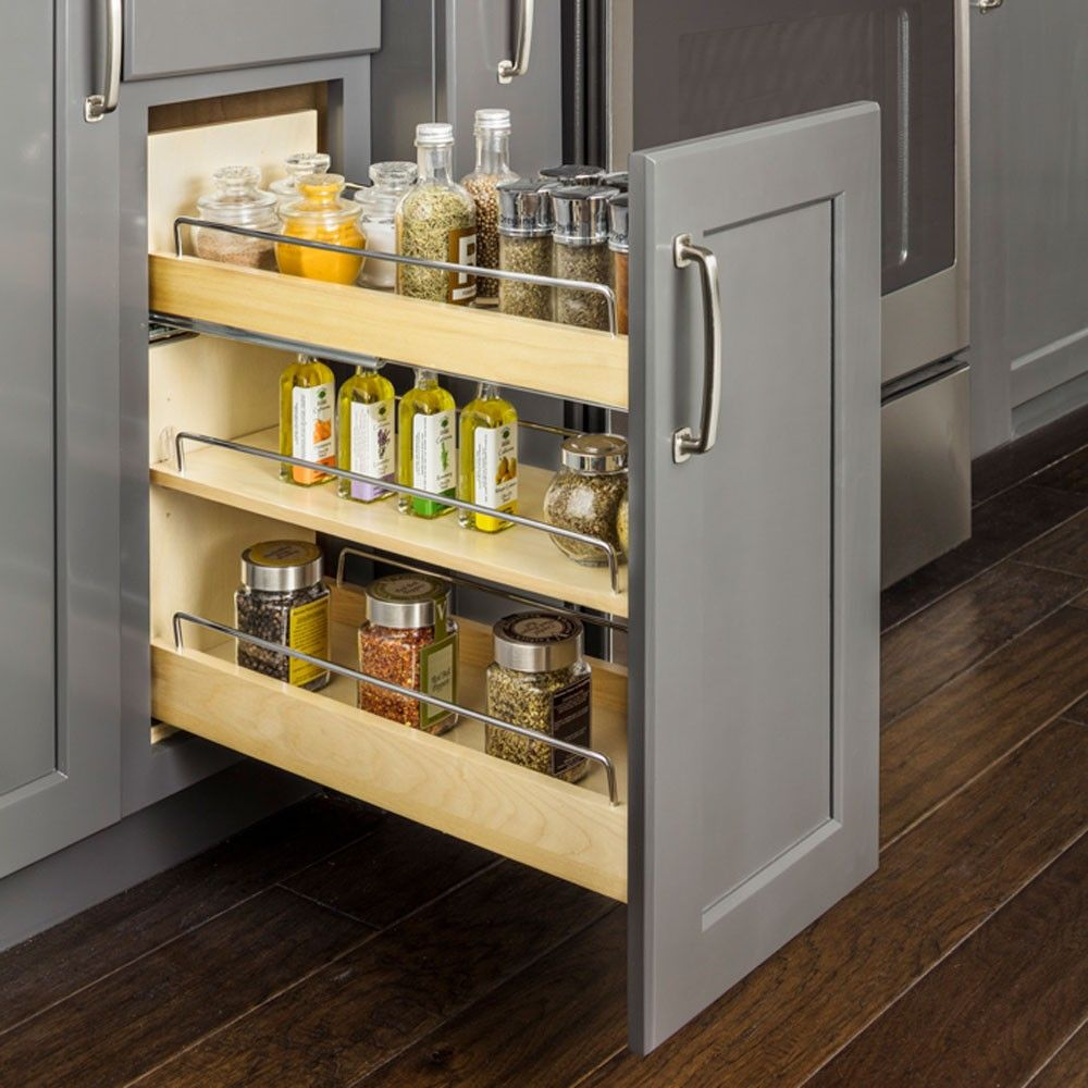 No Wiggle Under Drawer Base Cabinet Pullout