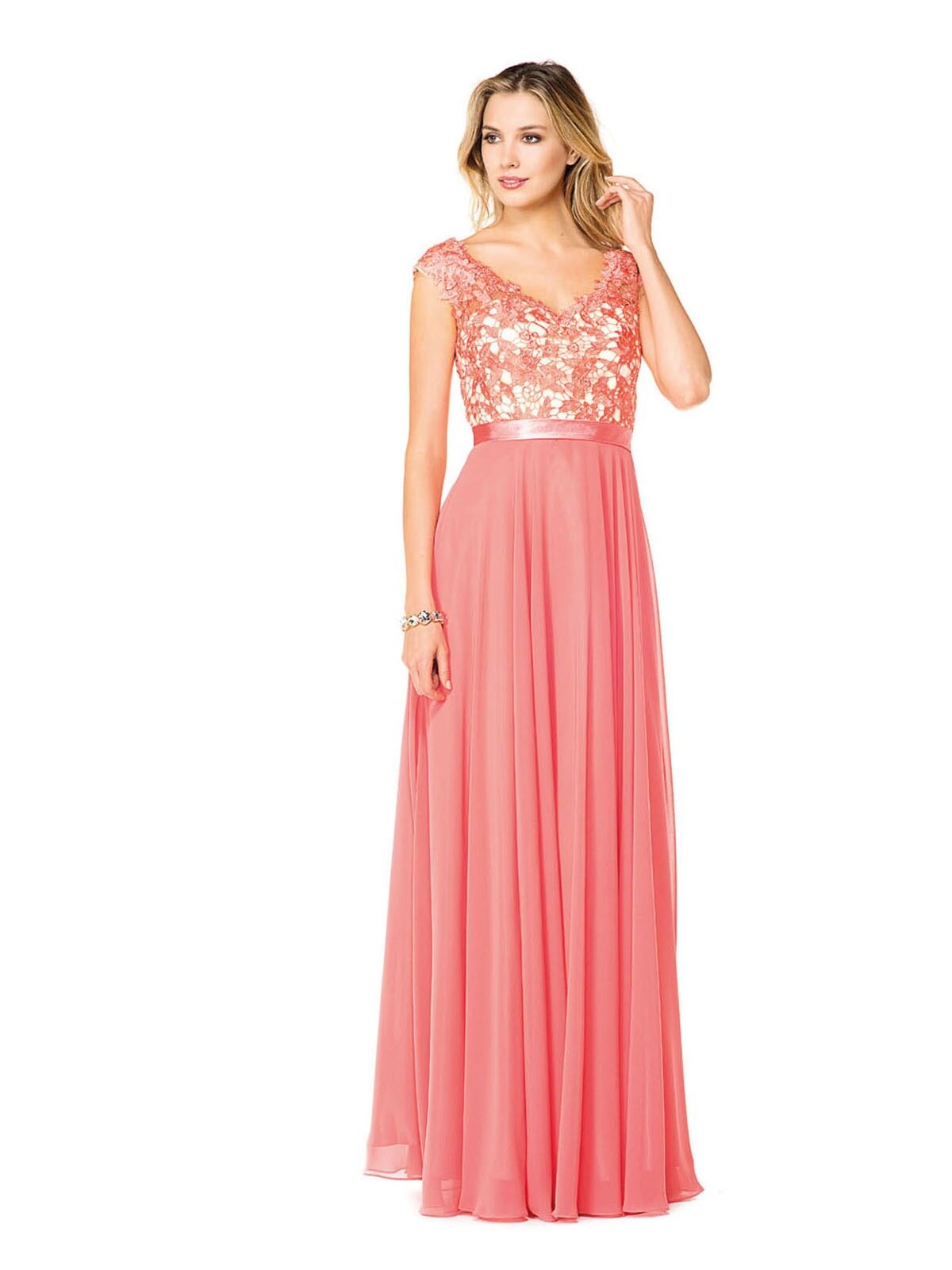 Glow by Colors G318, size 24, coral, In store only Bride N Groom ...