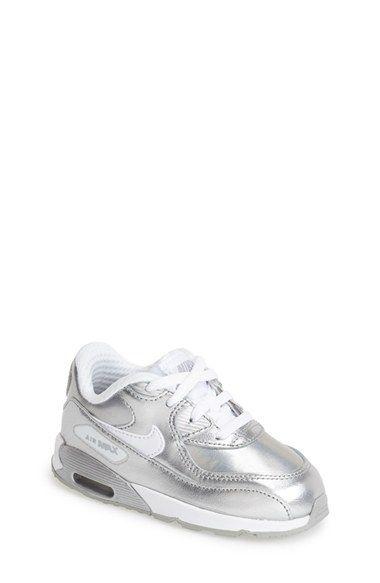 828b94be606 Nike  Air Max 90 Premium  Sneaker (Baby