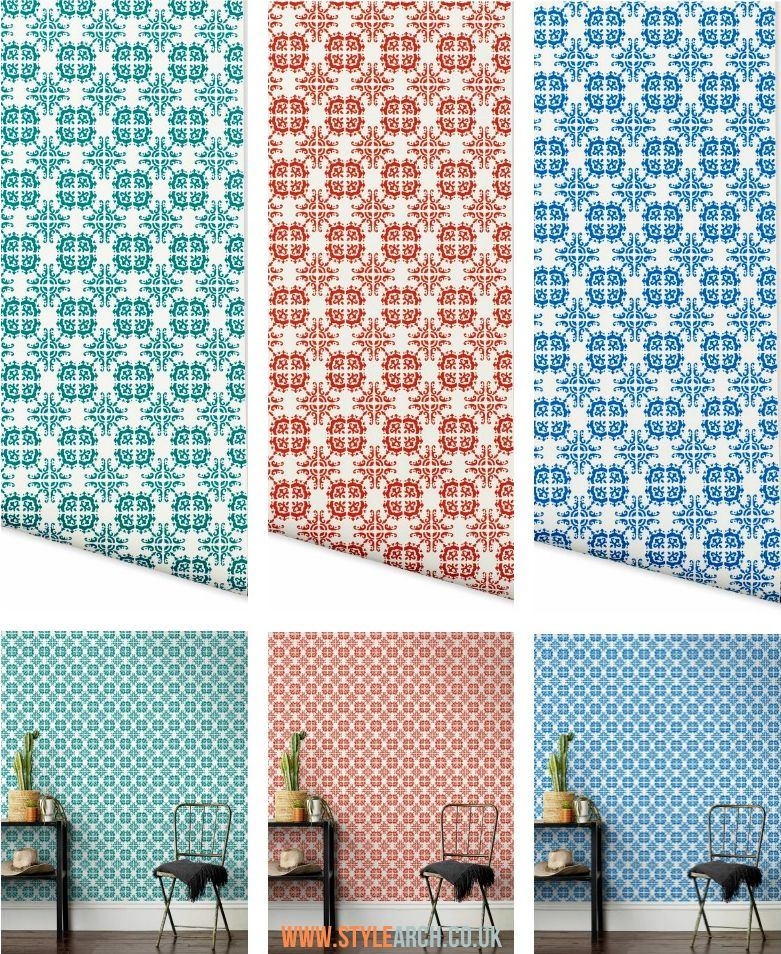 Hygge West Talavera Wallpaper Chill out room, Wall