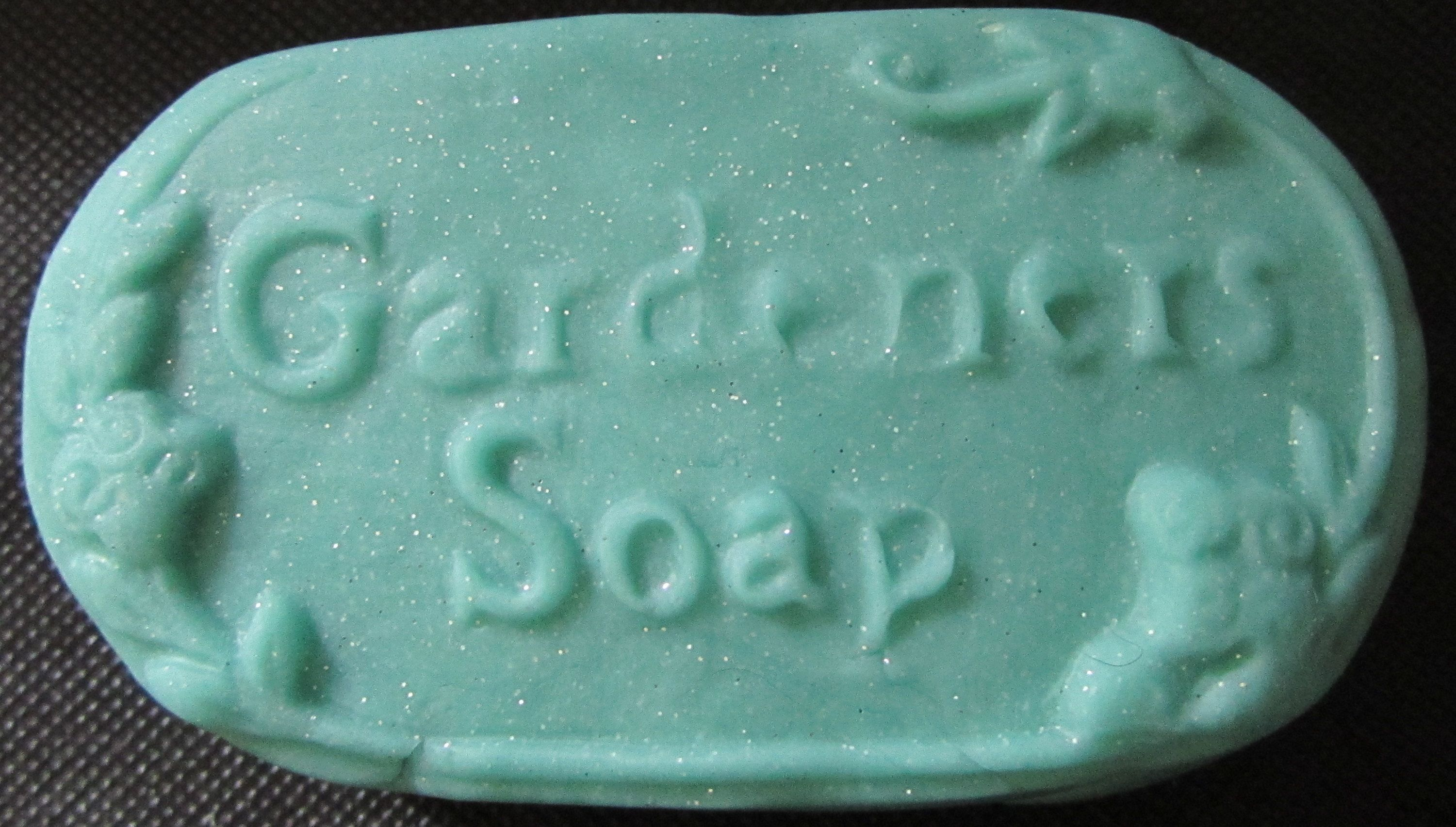 "Gardeners Soap    $5.75 (Top Seller) Gardeners Soap Size: 4 1/4"" x 2 1/2"" x 1"" Cavity Size: 4.75 oz. You can add your own fragrance, color, add-in and soap base. www.Making-ScentsSoaps.com"