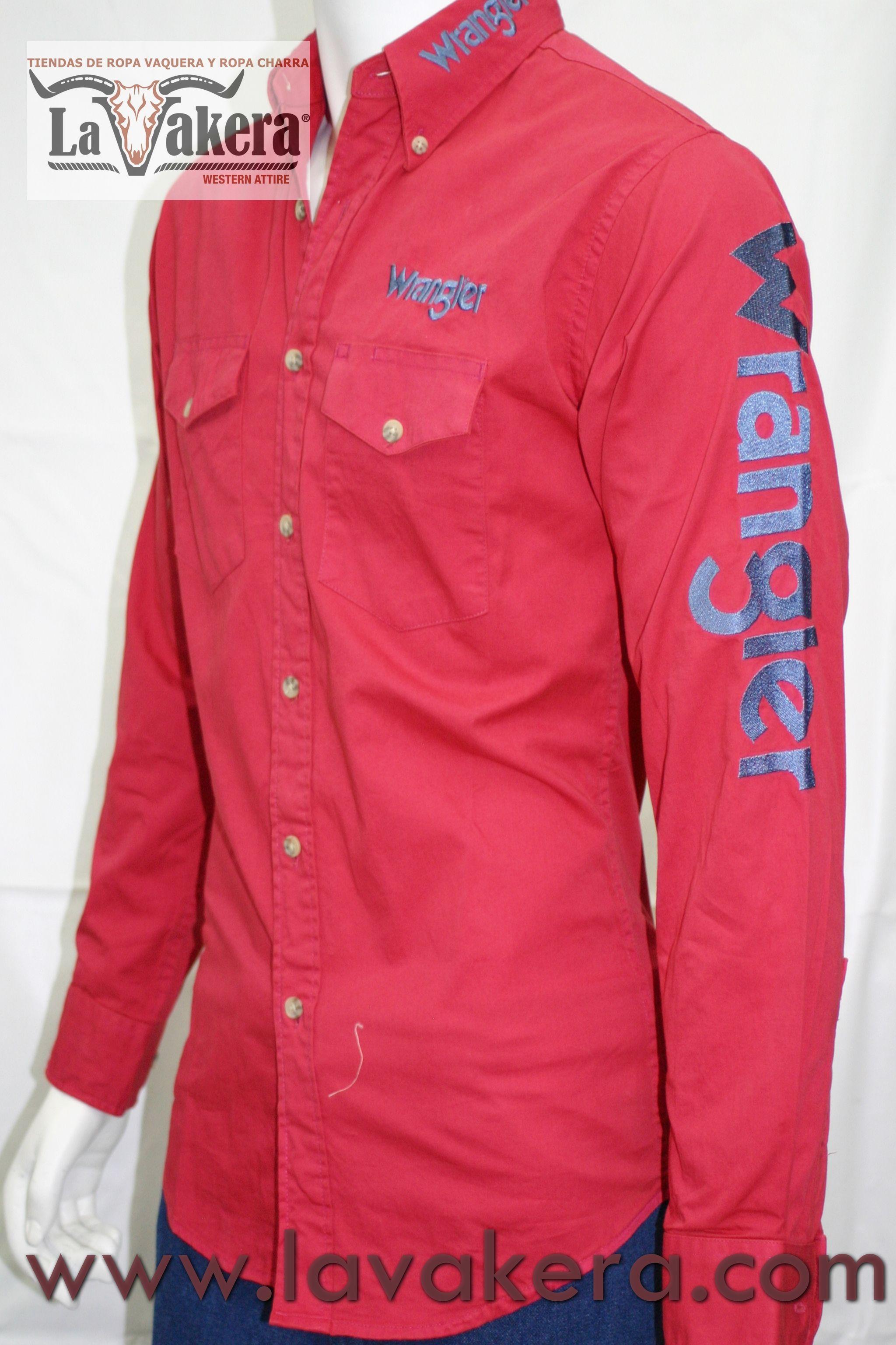 43a2ddf2a97 Camisa Vaquera  Wrangler Camisa Vaquera Hombre