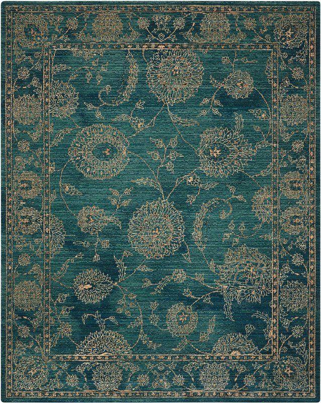 Mailus Oriental Blue Area Rug Teal Rug Teal Area Rug Area Rugs