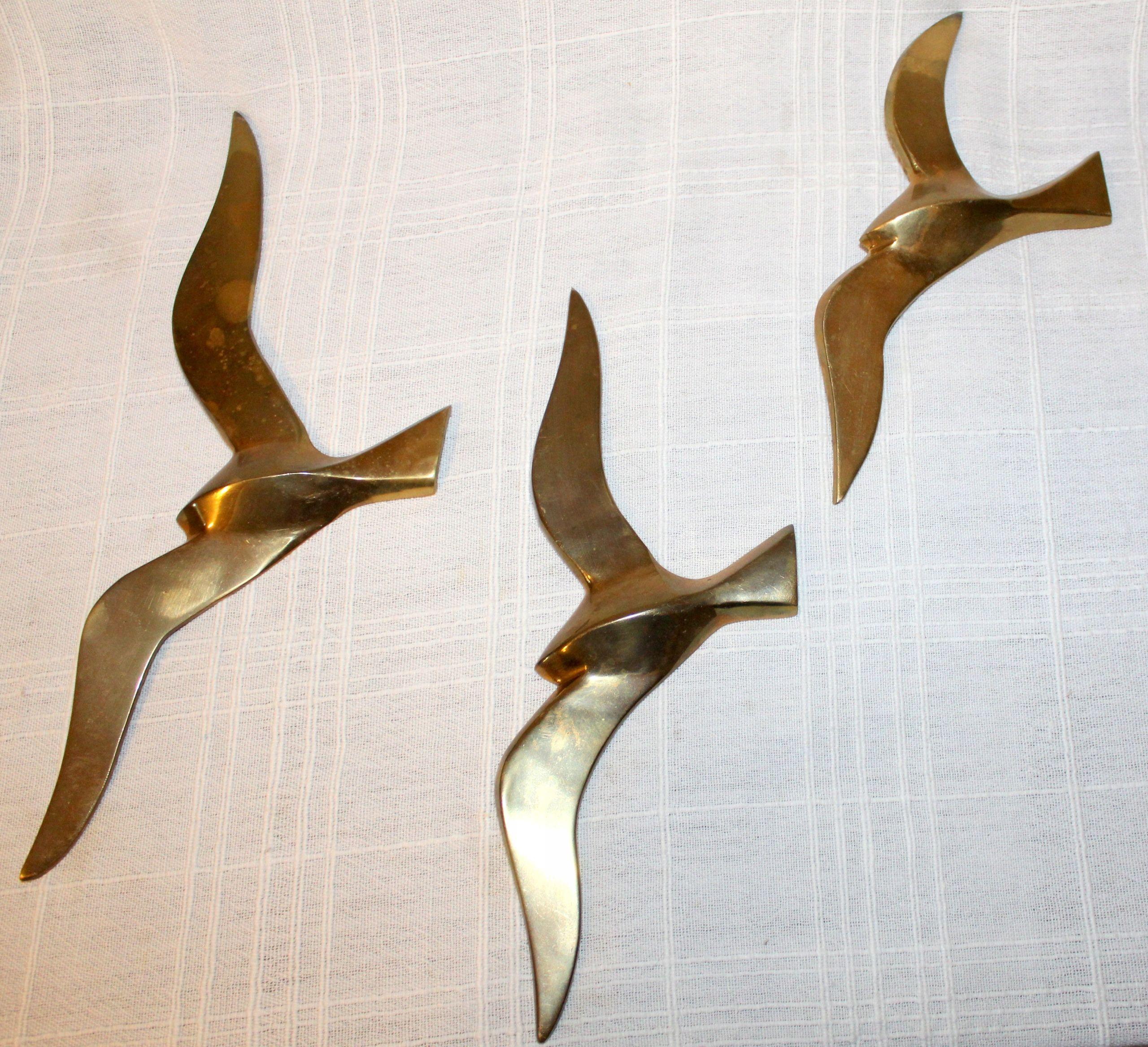 Mewy Jaskolki Ptaki Mid Century Mosiadz 1950 7456198018 Oficjalne Archiwum Allegro Pocket Knife