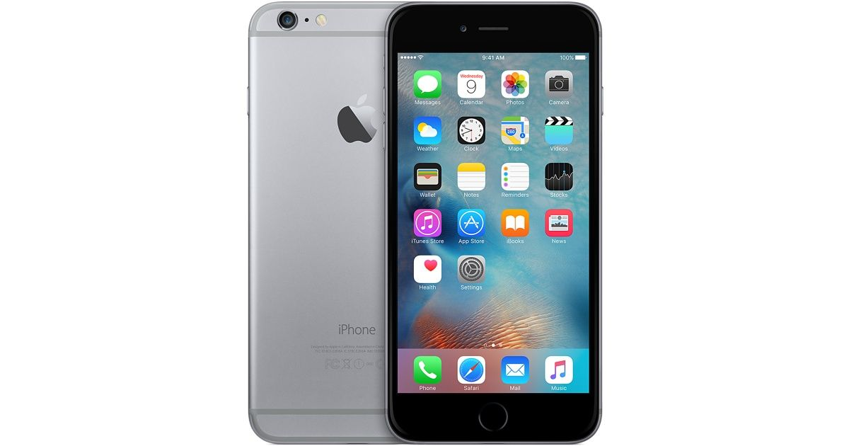 apple iphone 6 plus 64gb space grey