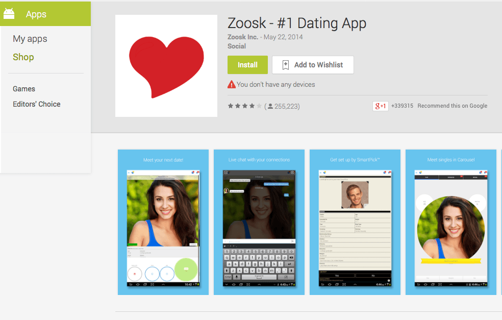 Dating sites similar to zoosk — photo 5