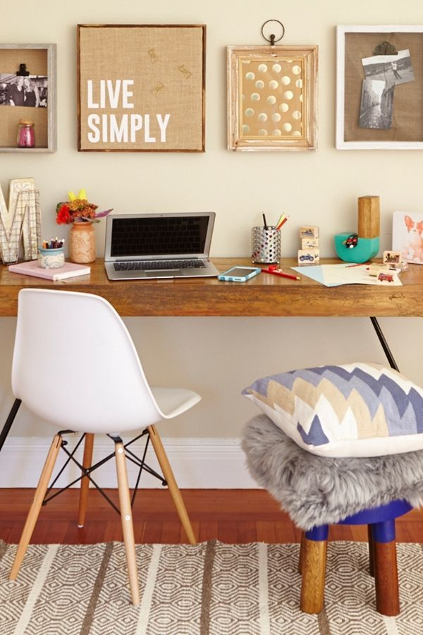 creating office work play. Create A Home Office That Works For You And Your Little Worker Bee. Fabric Covered Cork Boards, Colorful Containers Fun Seating Are Just Few Ways To Creating Work Play O